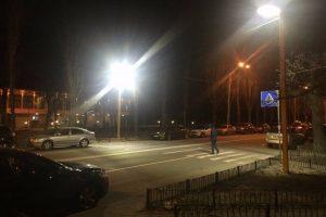 У столиці встановили дванадцять сенсорних переходів для пішоходів
