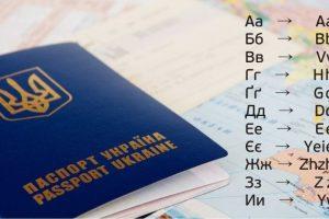 Український алфавіт має офіційну транслітерацію латиницею (Таблиця)