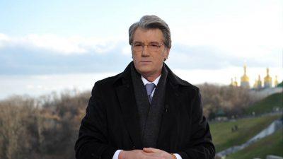 Віктор Ющенко: Не бачу приводу ховатися або прикидатися хворим, як це стало модним.