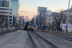 Як демонтують Шулявський міст