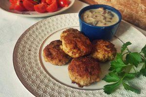 Пісні гречаники з грибним соусом – більшої смакоти я ще не куштувала