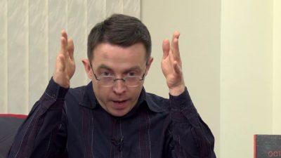 """Остап Дроздов: """"Вашого Зеленського обирали не для того, щоб він запитував – а щоб він узяв і припинив."""""""