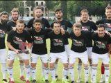 Грузинські футболісти вийшли на матч у футболках з антиокупаційними написами