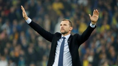 Шевченко увійшов до топ-10 найкращих тренерів збірних у світі
