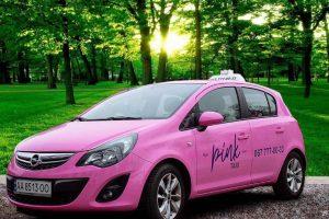 Лише для жінок та дітей: в Києві з'явилася нова служба таксі